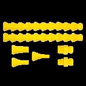 Трубка кислоустойчивая locline 45463 – Набор 1/4″