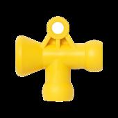 Фото № 1 45416 – T-образный переходник кислотоустойчивый 1/4″ - для системы подачи СОЖ с доставкой по России от LocLine.spb.ru