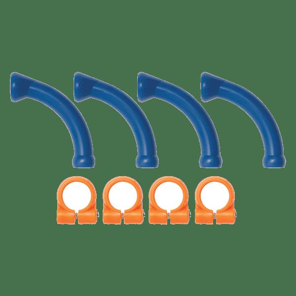 """40474 - Набор удлинительных угловых элементов и зажимов с винтами для системы Loc-Line 1/4"""""""