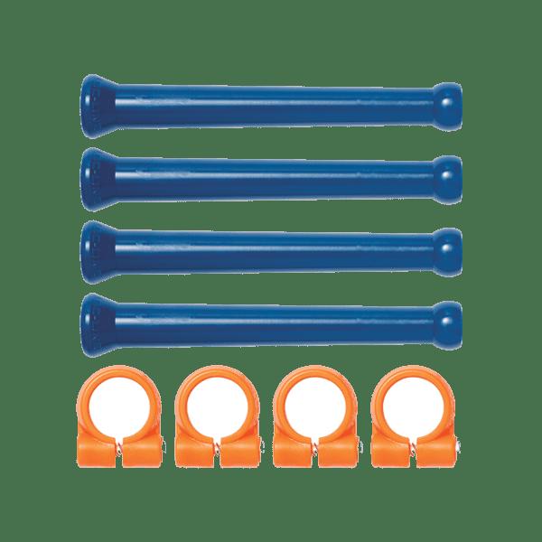 """41475 - Набор удлинительных элементов трубки и зажимов с винтами для системы Loc-Line 1/4"""""""