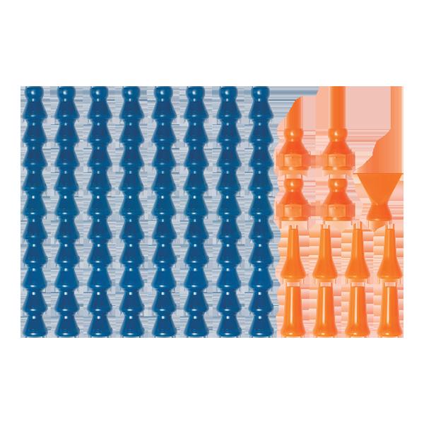 """40452 - Набор элементов для системы Loc-Line 1/4"""""""
