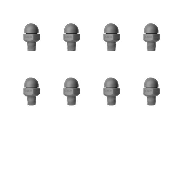 Фото № 3 79010 - HPT 1/8″ резьба - 062X0 - Набор из 10 шт. - для системы подачи СОЖ с доставкой по России от LocLine.spb.ru