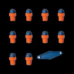 79060 - HPT 1/4″ резьба - 062X0 - Набор из 10 шт.
