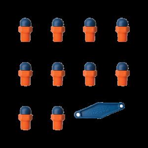 79072 - HPT 1/4″ резьба - 160X0 - Набор из 10 шт.