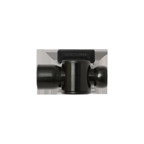 Фото № 1 39853-BLK – Черный – 1/2″ вентиль резьбовой NPT (мама) – Набор из 10 шт. - для системы подачи СОЖ с доставкой по России от LocLine.spb.ru