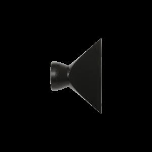 69547-BLK — Черный — 3″ наконечник с раструбом — Набор из 20 шт.