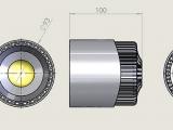 Фото № 2 30 - Светодиодный лабораторный светильник AL30 - для системы подачи СОЖ с доставкой по России от LocLine.spb.ru