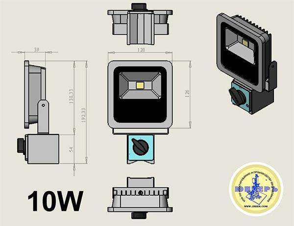 Фото № 2 22 - Светодиодный станочный прожектор ALR-22 - для системы подачи СОЖ с доставкой по России от LocLine.spb.ru