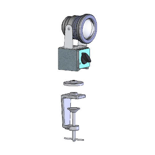 Фото № 1 1-1 - Светодиодный универсальный светильник AF-1 - для системы подачи СОЖ с доставкой по России от LocLine.spb.ru