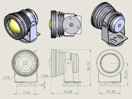 Фото № 3 1-1 - Светодиодный универсальный светильник AF-1 - для системы подачи СОЖ с доставкой по России от LocLine.spb.ru